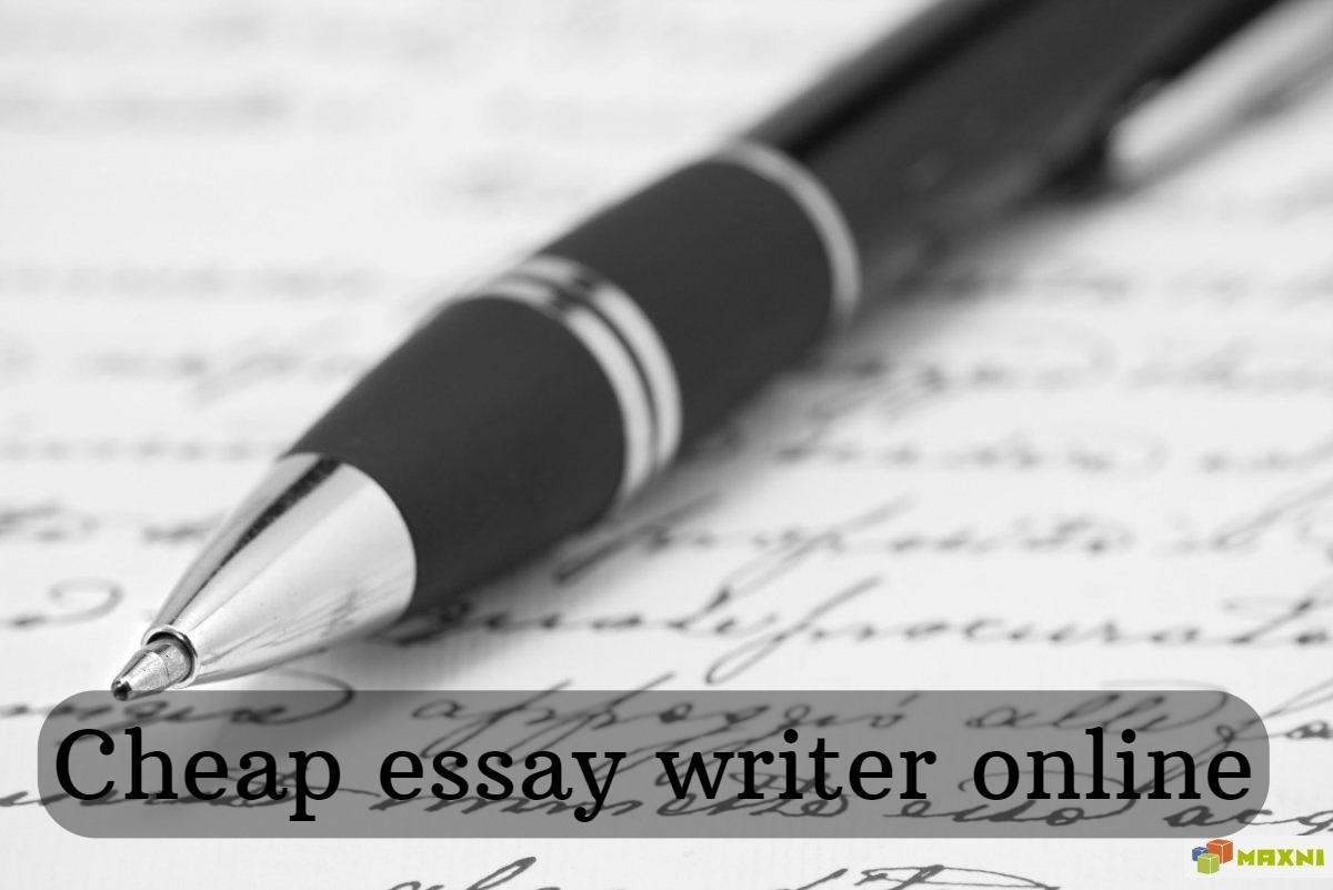Cheap essay writer online